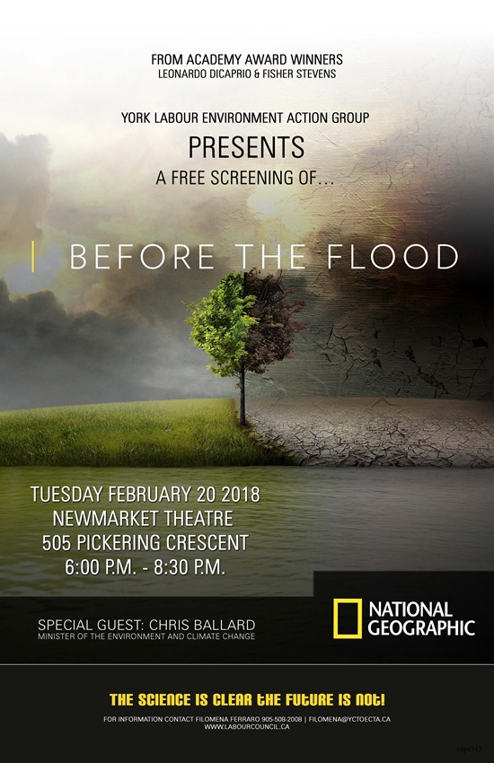 Before the Flood Poster